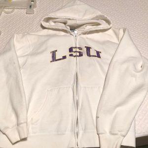 Zip up LSU top
